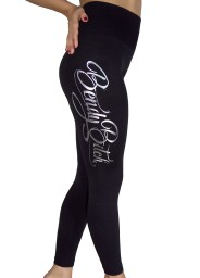 Cleo Bendy bitch fleece leggings $24.95