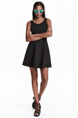 H&M black sleeveless dress £7.99 H&M